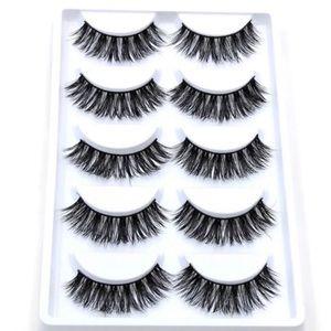 Set of 5 lashes
